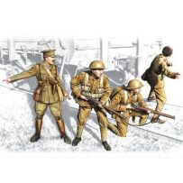 ICM 35301 BRITISH INFANTRY (1917-1918) (4 FIGURES - 1 OFFICER, 3 SOLDIERS) 1:35