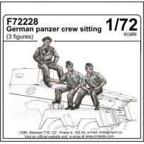 GERMAN PANZER CREW SITTING