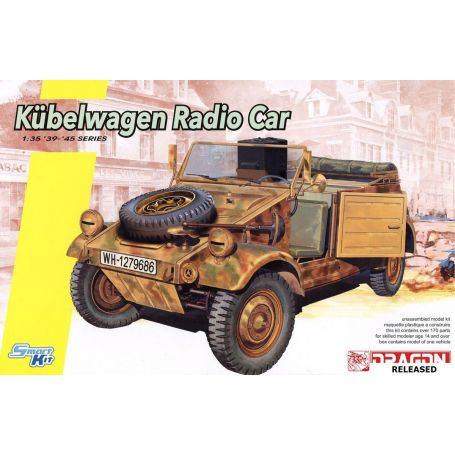 DRAGON 6886 KUBELWAGEN RADIO 1/35