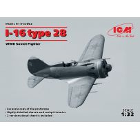 I-16 TYPE 28 CHASSEUR RUSSE WWII 1/32