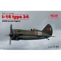 I-16 TYPE 24 WWII SOVIET FIGHTER 1/32