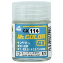 MR. COLOR GX SUPER SMOOTH CLEAR FLAT