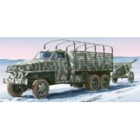 ITALERI 6499 LAND LEASE US TRUCK+ZIS3 1/35