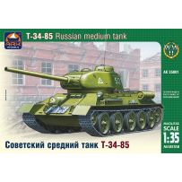 ARK MODELS AK 35001 T-34-85 Russian medium tank 1:35