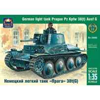 ARK MODELS AK 35003 German light tank Prague Pz Kpfw 38(t) Ausf G 1/35