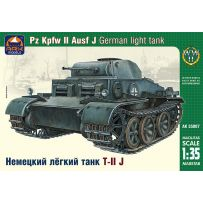 ARK MODELS AK 35007 PZ.KPFW.II AUSF.J GERMAN LIGHT TANK