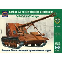 ARK MODELS AK 35008 PAK 43/3 WAFFENTRAGER GERMAN 8.8 CM SELF-PROPELLED ANTITANK GUN