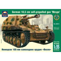 ARK MODELS AK 35013 WESPE GERMAN 10 10.5 CM SELF-PROPELLED GUN