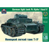 ARK MODELS AK 35015 PZ.KPFW.I AUSF.F GERMAN LIGHT TANK