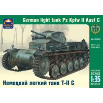 ARK MODELS AK 35018 PZ.KPFW.II AUSF.C GERMAN LIGHT TANK