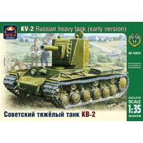 ARK MODELS AK 35022 KV-2 RUSSIAN HEAVY TANK EARLY VERSION