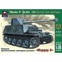 ARK MODELS AK 35031 MARDER II SD.KFZ.132 GERMAN TANK DESTROYER