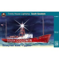 "ARK MODELS 40010 TRINITY HOUSE ""SOUTH GOODWIN"" BRITISH LIGHTSHIP SCALE 1:110"