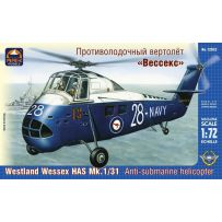 "ARK MODELS 72032 WESTLAND ""WESSEX"" HAS MK.1/31 BRITISH ANTI-SUBMARINE HELICOPTER 1/72"