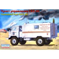 EASTERN EXPRESS 35134 GAZ-66 COMMAND POST (WITH A NEW KUNG) 1/35