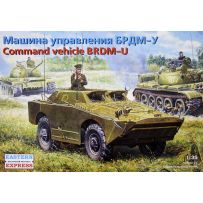 EASTERN EXPRESS 35162 BRDM-U RUSSIAN ARMORED RECONNAISSANCE / PATROL VEHICLE - COMMAND POST 1/35