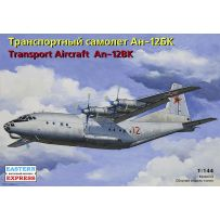 EASTERN EXPRESS 14486 ANTONOV AN-12BK RUSSIAN MILITARY TRANSPORT AIRCRAFT, THE RUSSIAN AIR FORCE 1/35