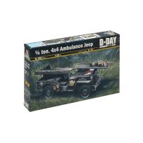 ITALERI 326 4X4 JEEP AMBULANCE 1/35