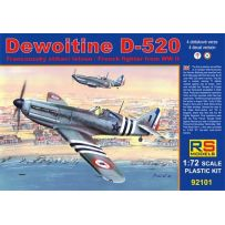 RS MODELS 92101 DEWOITINE D-520 FREE FRANCE