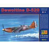 RS MODELS 92113 DEWOITINE D-520 VICHY