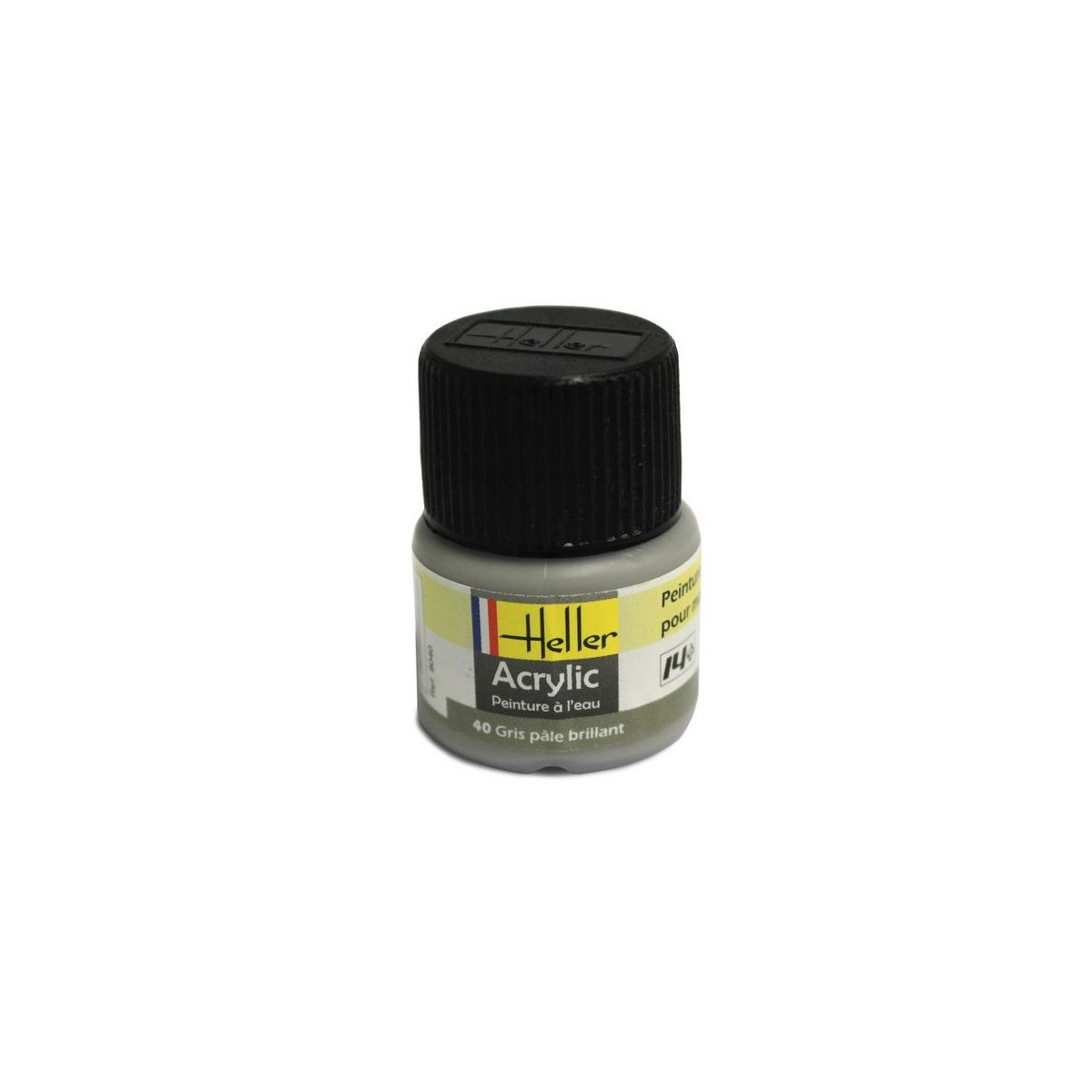 Heller 09040 gris pale brillant for Peinture gris brillant