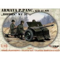 MIRAGE HOBBY 35212 37MM 'BOFORS' WZ 36 ANTI TANK GUN 1/35