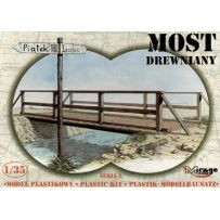 MIRAGE HOBBY 35220 WOODEN BRIDGE 1/35
