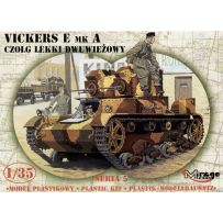 MIRAGE HOBBY 35303 VICKERS E MK.A TWIN TURRET 1/35