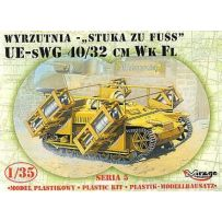 MIRAGE HOBBY 35519 UE-SWG 40/32CM WK FL 'STUKA ZU FUSS' SELF-PROPELLED ROCKET LAUNCHER 1/35