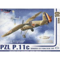 MIRAGE HOBBY 48103 PZL P-11C RUMANIAN AIR FORCE 1/48