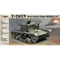 MIRAGE HOBBY 72606 T-26TN ARMOURED OBSERVATION POST 1/72