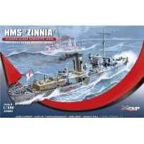 MIRAGE HOBBY 350802 HMS 'ZINNIA' FLOWER - CLASS CORVETTE (K98) 1/350