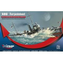 MIRAGE HOBBY 350505 A 86 GERMAN TORPEDOBOAT A/III CLASS 1/350