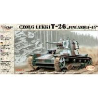 MIRAGE HOBBY 72620 T-26 FINLAND-45 LT.TANK 1/72