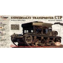 MIRAGE HOBBY 72893 C7P UNIVERSAL TRANSPORT TRACTOR ( RUSSIAN VERSION ) 1/72