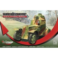 MIRAGE HOBBY 355020 ARMOURED CAR MODEL 1934/II (POLISH AND GERMAN VERSION) 1/35