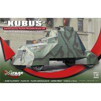 MIRAGE HOBBY 355026 'KUBUŚ' (WARSAW'44 UPRISING ARMOURED CAR) 1/35