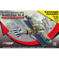MIRAGE HOBBY 481401 SCHUSTA/SCHLASTA 27B HALBERSTADT CL.II (LOZENGE FIVE COLOR, DAY TIME PATTERN DECALS INSIDE!) 1/48