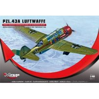 MIRAGE HOBBY 481311 PZL.43A LUFTWAFFE 'GERMAN VERSION MIELEC 1940' (RECONNAISSANCE-BOMBER) 1/48