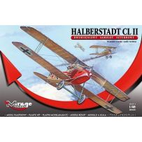 MIRAGE HOBBY 481306 HALBERSTADT CL.II TWO-SEAT VERSION EARLY 1/48