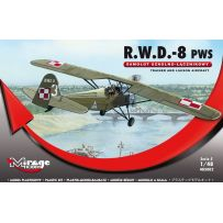 MIRAGE HOBBY 485002 R.W.D.-8 PWS (TRAINER AND LIAISON PLAN VERSION) 1/48