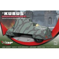MIRAGE HOBBY 724001 'KUBUŚ' (WARSAW'44 UPRISING ARMOURED CAR) [SCALE: 1/72] 1/72
