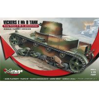 MIRAGE HOBBY 726004 TANK VICKERS E MK.B 'SINGLE TURRET' 1/72