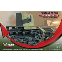 MIRAGE HOBBY 726027 76,2MM 'LENINGRAD' SELF-PROPELLED GUN 1/72