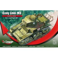 MIRAGE HOBBY 726072 U.S. LIGHT TANK M3 'LUZON 1942' 1/72