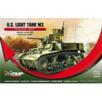 MIRAGE HOBBY 726073 U.S. LIGHT TANK M3 'TUNISIA 1943' 1/72