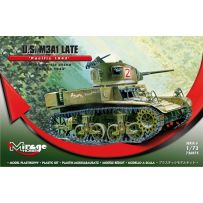 MIRAGE HOBBY 726075 M3A1 LATE U.S. LIGHT TANK 'PACIFIC 1943' 1/72