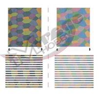 MIRAGE HOBBY D0003 LOZENGE DAY, FIVE COLOR, DARK & LIGHT PATTERN (WW1) [FOR 1 MODEL] 1/48