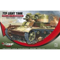 MIRAGE HOBBY 355010 VICKERS-ARMSTRONG '6 TON' MK F/B LIGHT TANK (BULGARIAN, FINNISH AND ENGLISH VERSION) 1/35