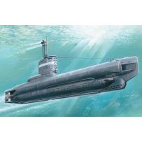 ICM S004 U-BOAT TYPE XXIII, WWII GERMAN SUBMARINE 1:144